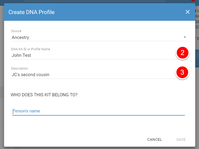 Getting Started: Create Your DNA Profile - RootsFinder Support