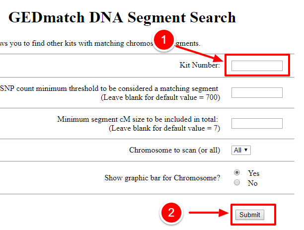 Getting Started: How To Import Your GEDmatch Data