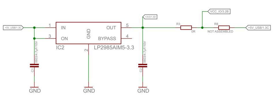 Illustration 1 – Extract from TMC5130-EVAL schematic
