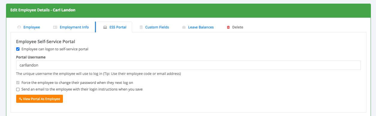 Employee Self-Service <b>Portal</b> - <b>HR Partner</b> Knowledge Base