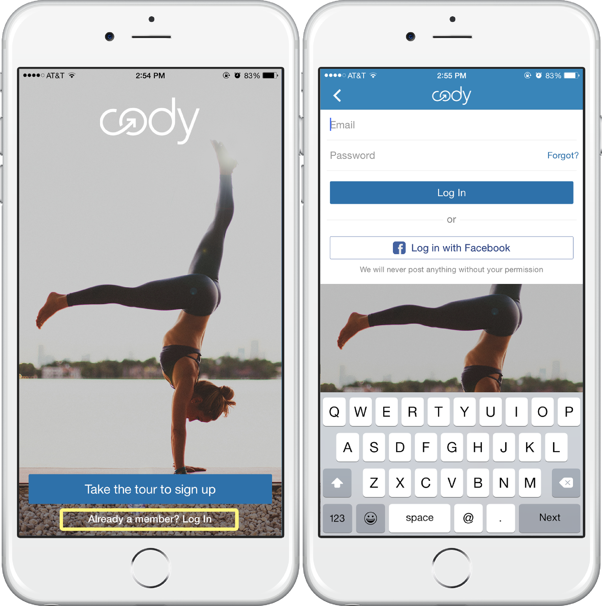How do I download my workouts onto my Apple device? - Cody