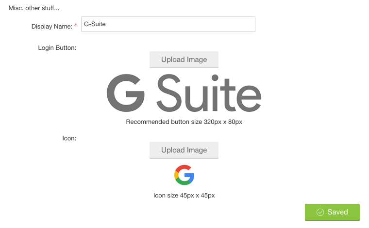 Configuring OAuth 2 > G-Suite by Google - Influitive Support