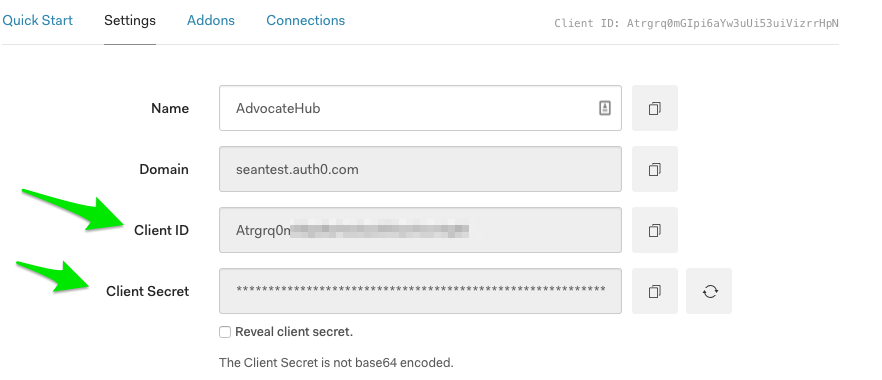 Configuring OAuth 2 > Auth0 - Influitive Support Portal