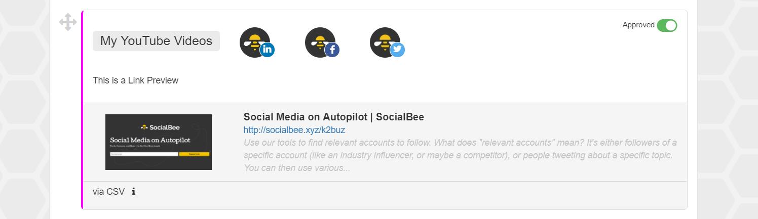 How do I Import Content via CSV? - SocialBee Help Documentation