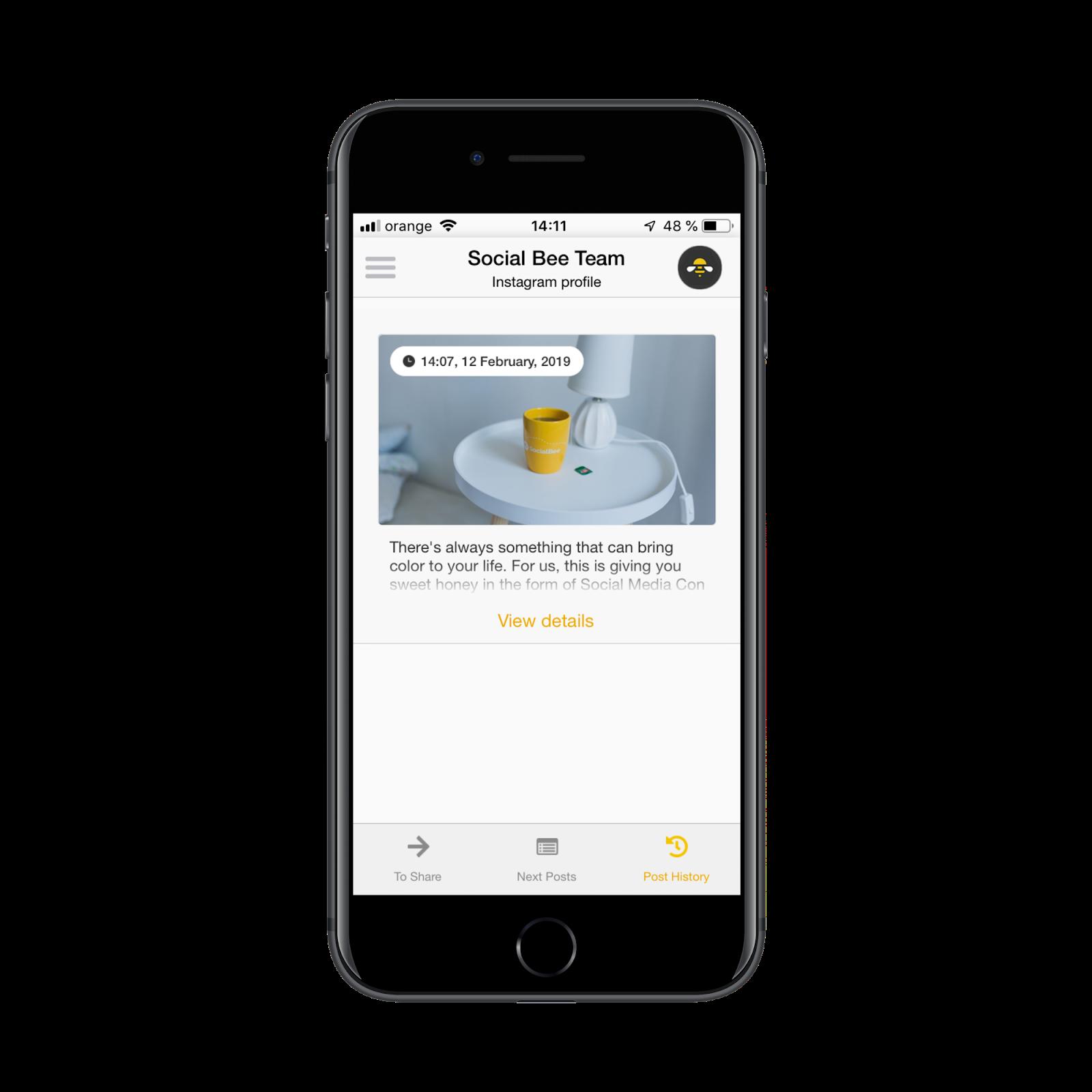 Using the SocialBee Mobile App (Beta) - SocialBee Help