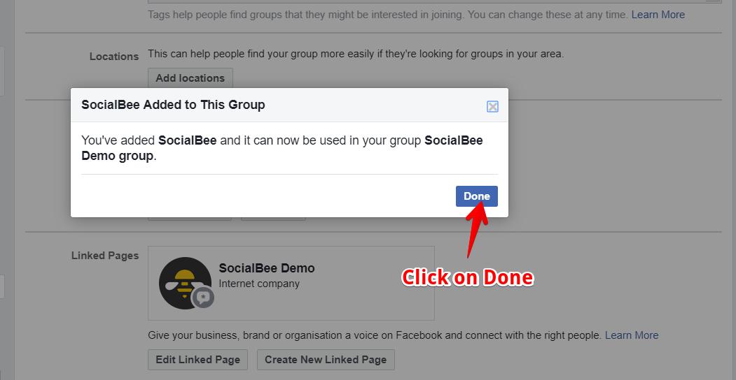 Posting on Facebook Groups - SocialBee Help Documentation