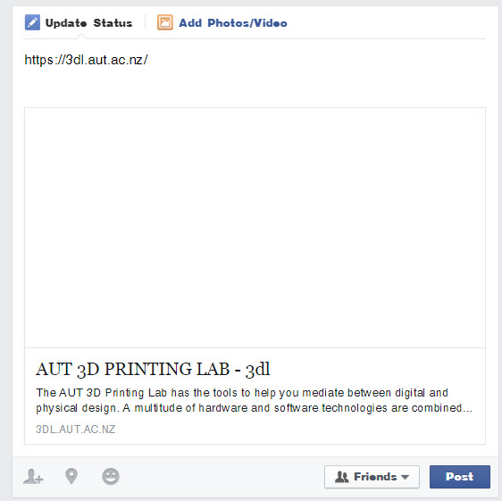 Blank Facebook link previews after sharing your Shopify store