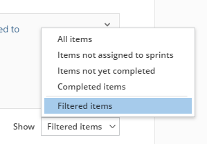 Getting started with filtering