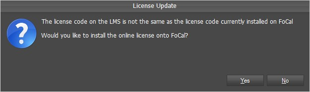 Licence Details Updated