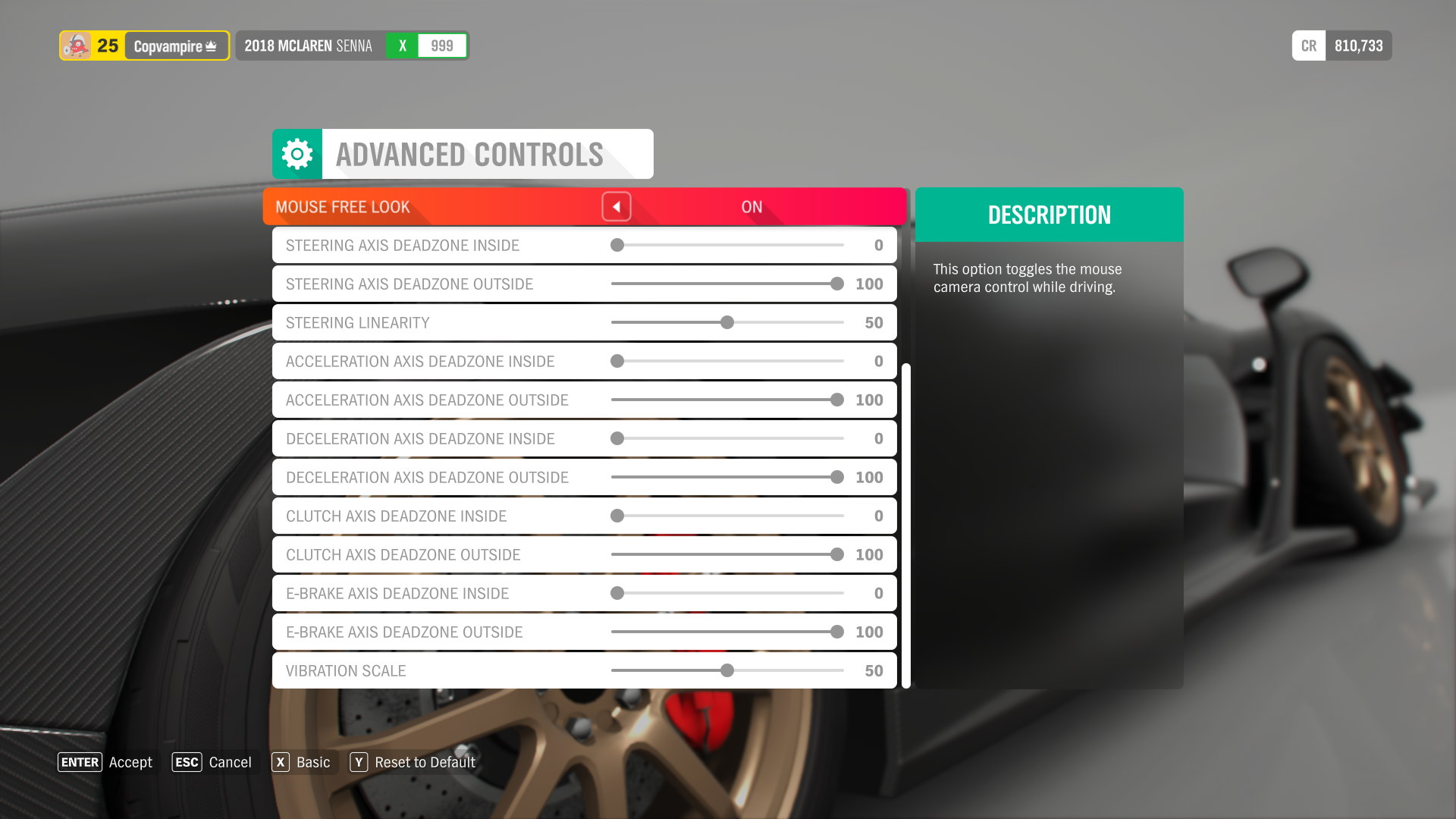 Game profile - Forza Horizon 4 - Wooting Knowledge Base