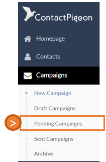 Pending campaign