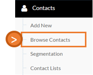browse contacts