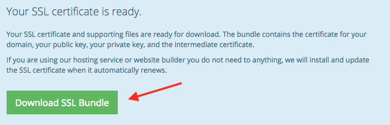 How To Use Your Free Ssl Certificate Porkbun Knowledge Base