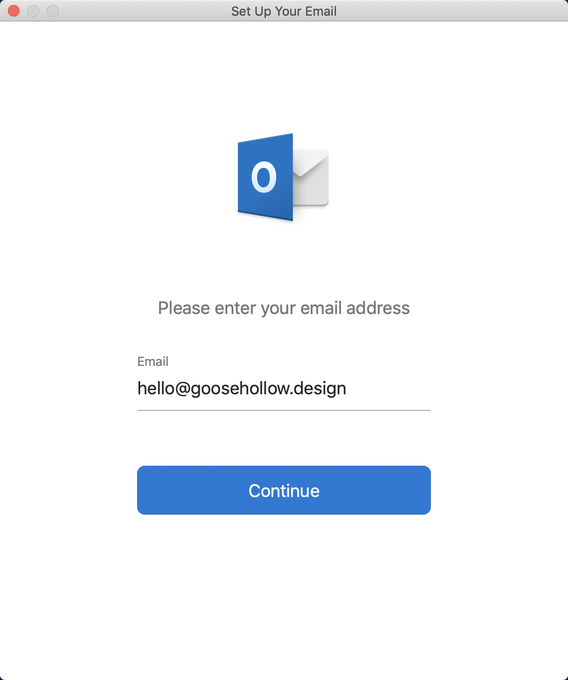 how do you hook up your email to outlook