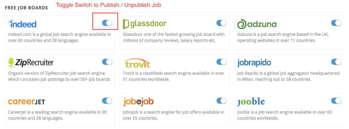 free job search engines