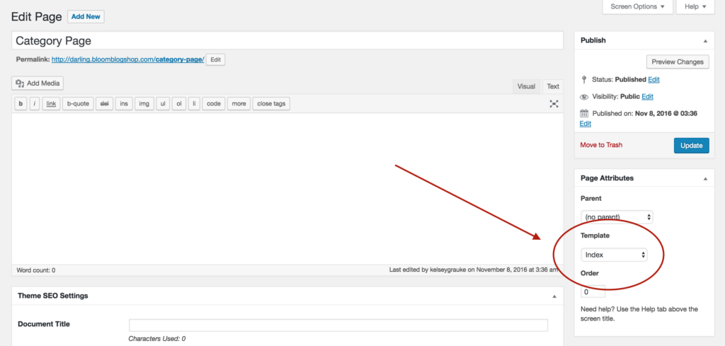 Affiliate Pro: Create a Category Index Page - Bloom Knowledge Base