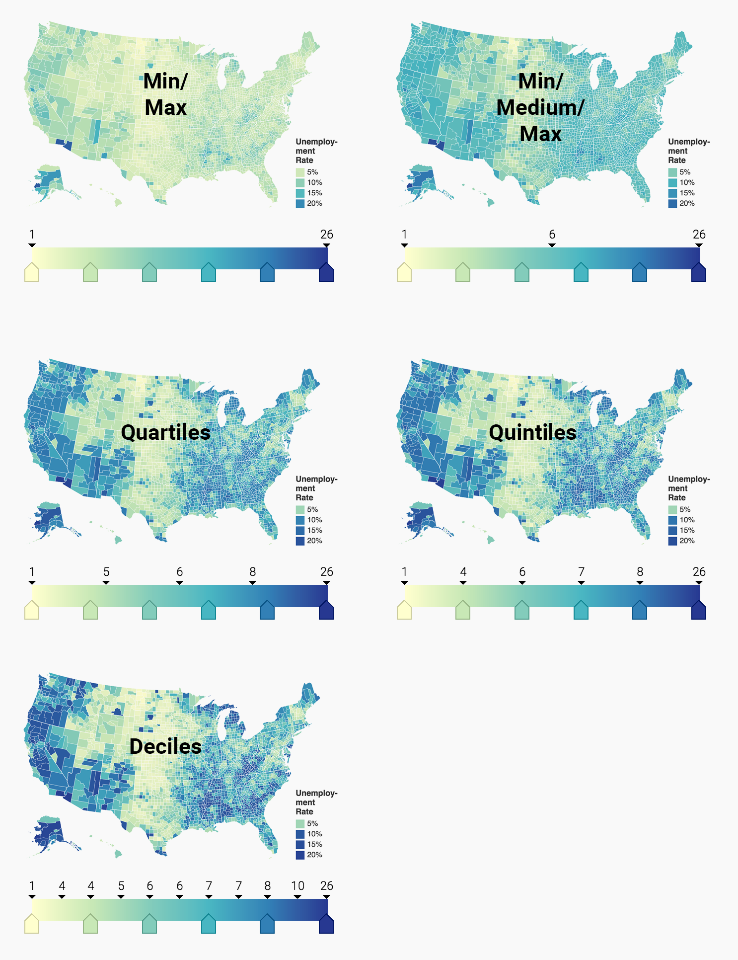 How to choose stops for choropleth maps - Datawrapper Academy