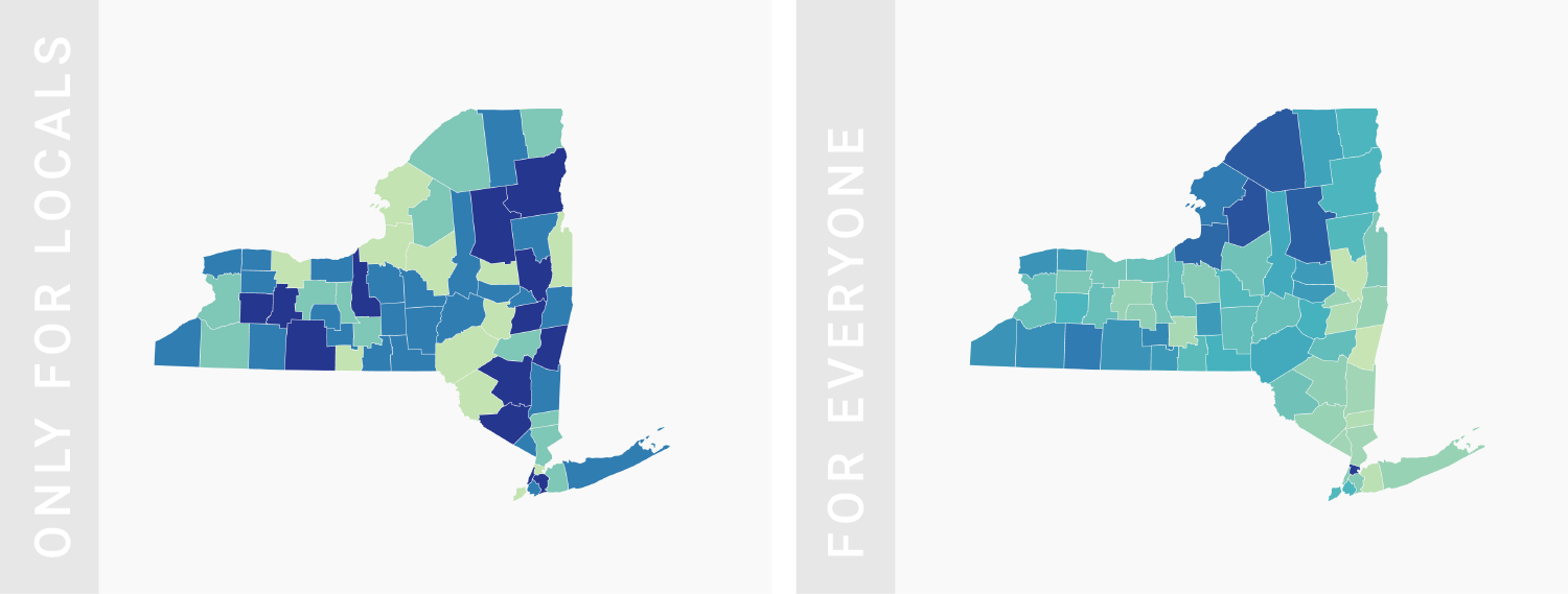What to consider when creating choropleth maps - Datawrapper Academy