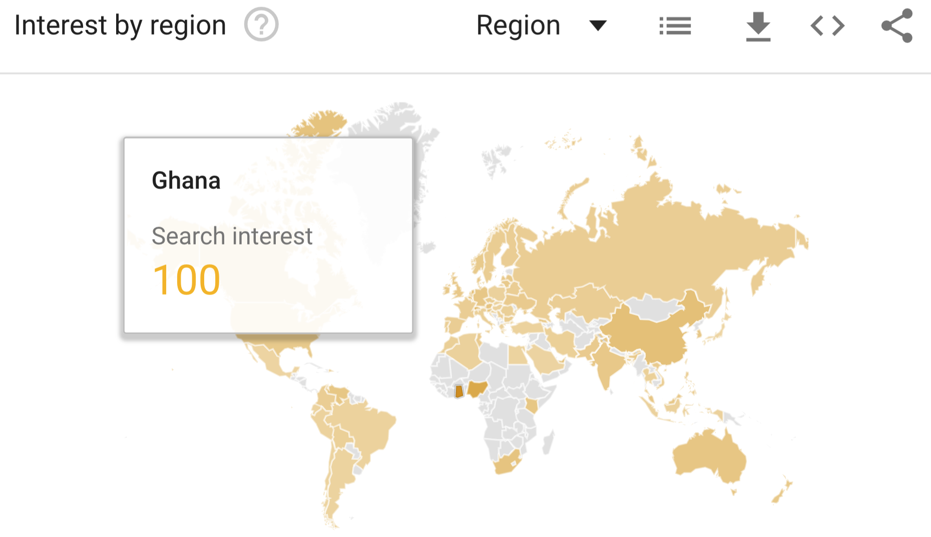 Source: How to get data from Google Trends for charts or maps