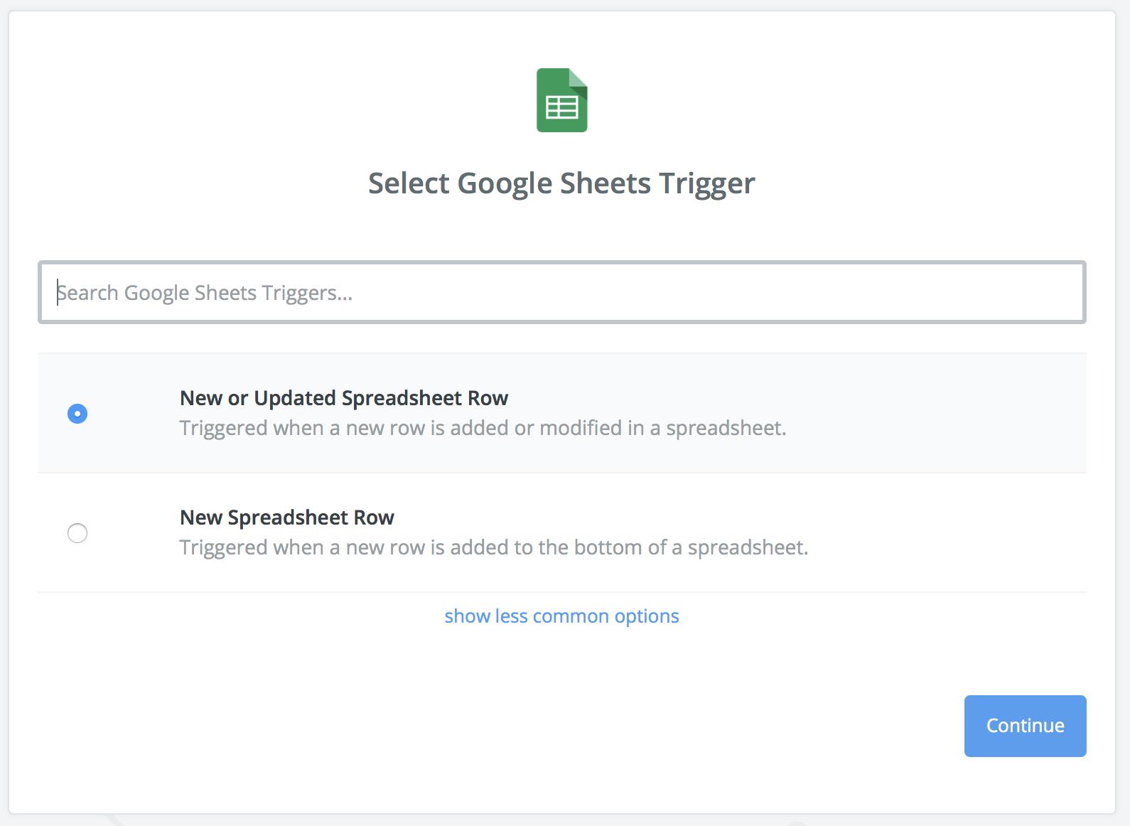 Guide Using Google Sheets Through Zapier Databox Help Desk