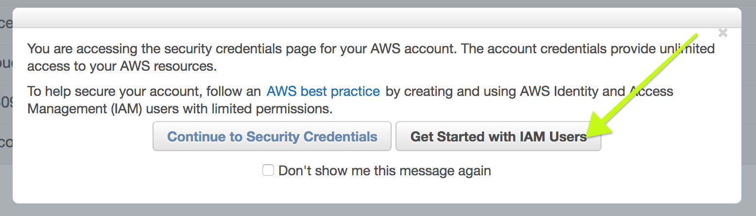Configuring & Troubleshooting our Amazon Web Services (AWS) Addon