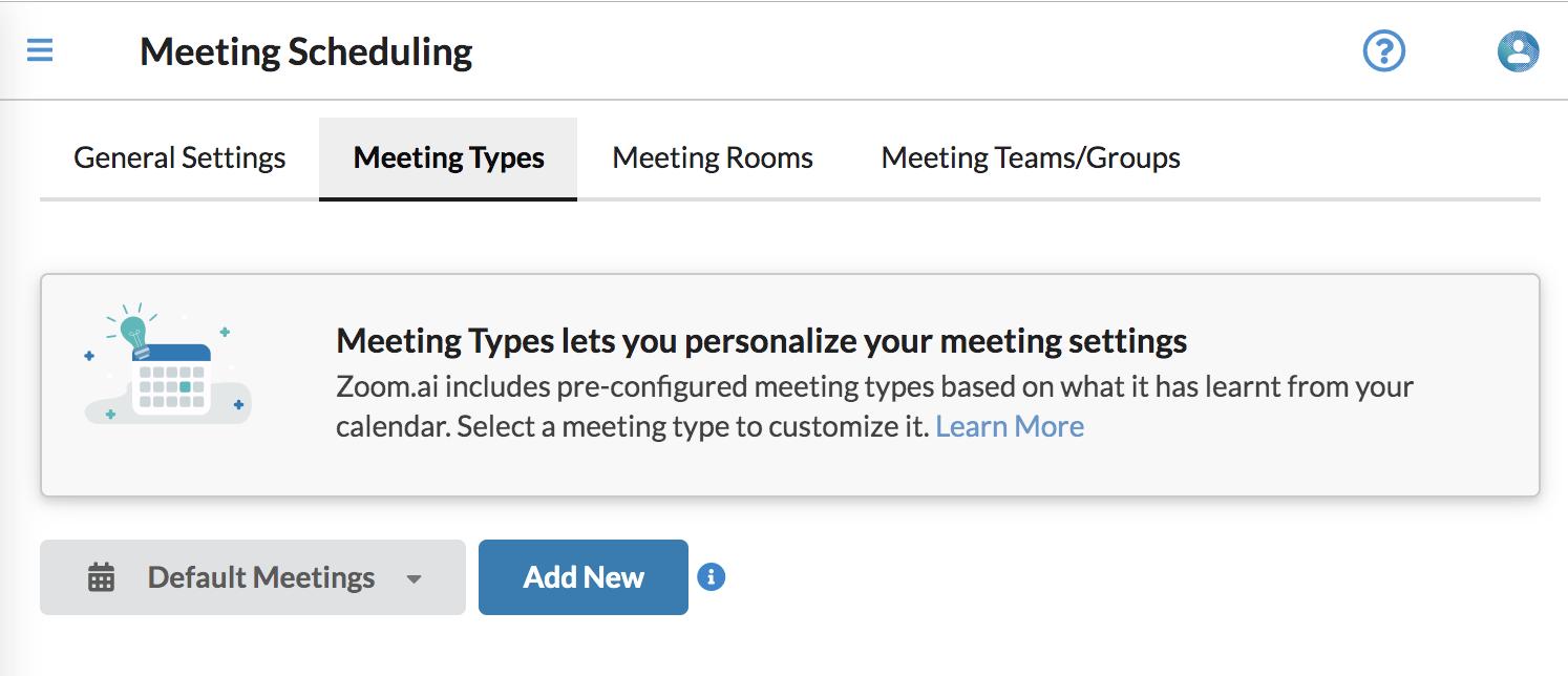 How do I add a Custom Meeting Type? - FAQ @ Zoom ai