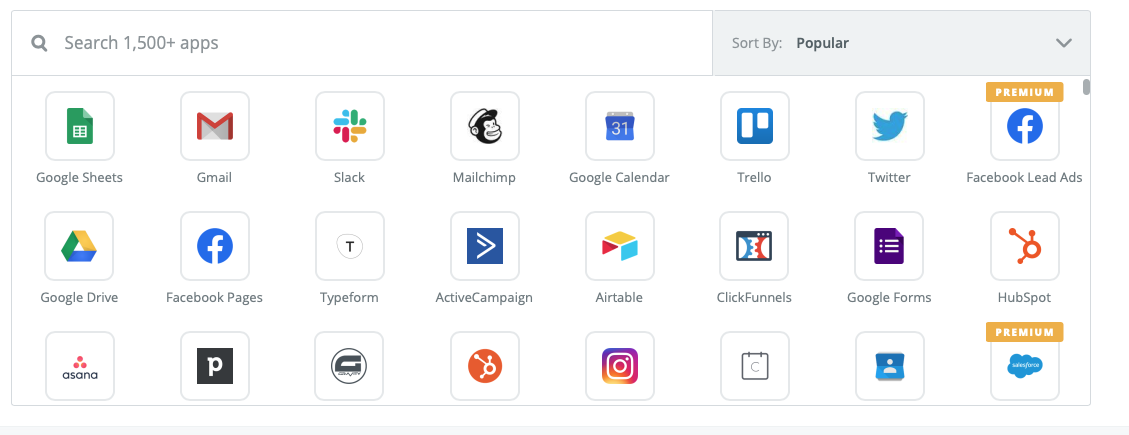 wix to zapier integrations