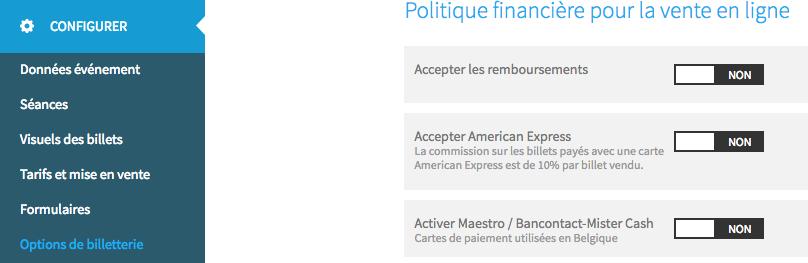 Carte American Express Belgique.Accepter Les Paiements Par Carte American Express Aide Weezevent