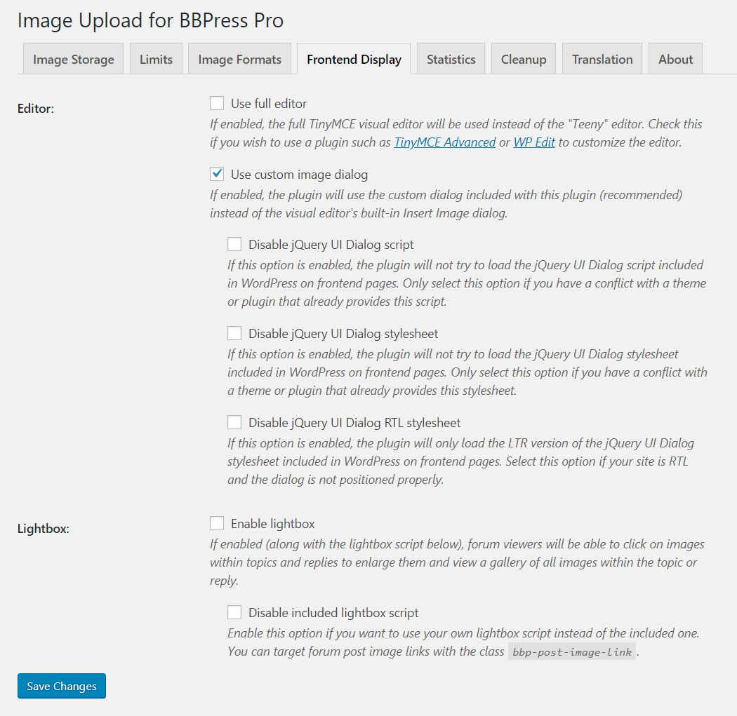 Image Upload for BBPress Pro - Aspen Grove Studios Knowledge Base