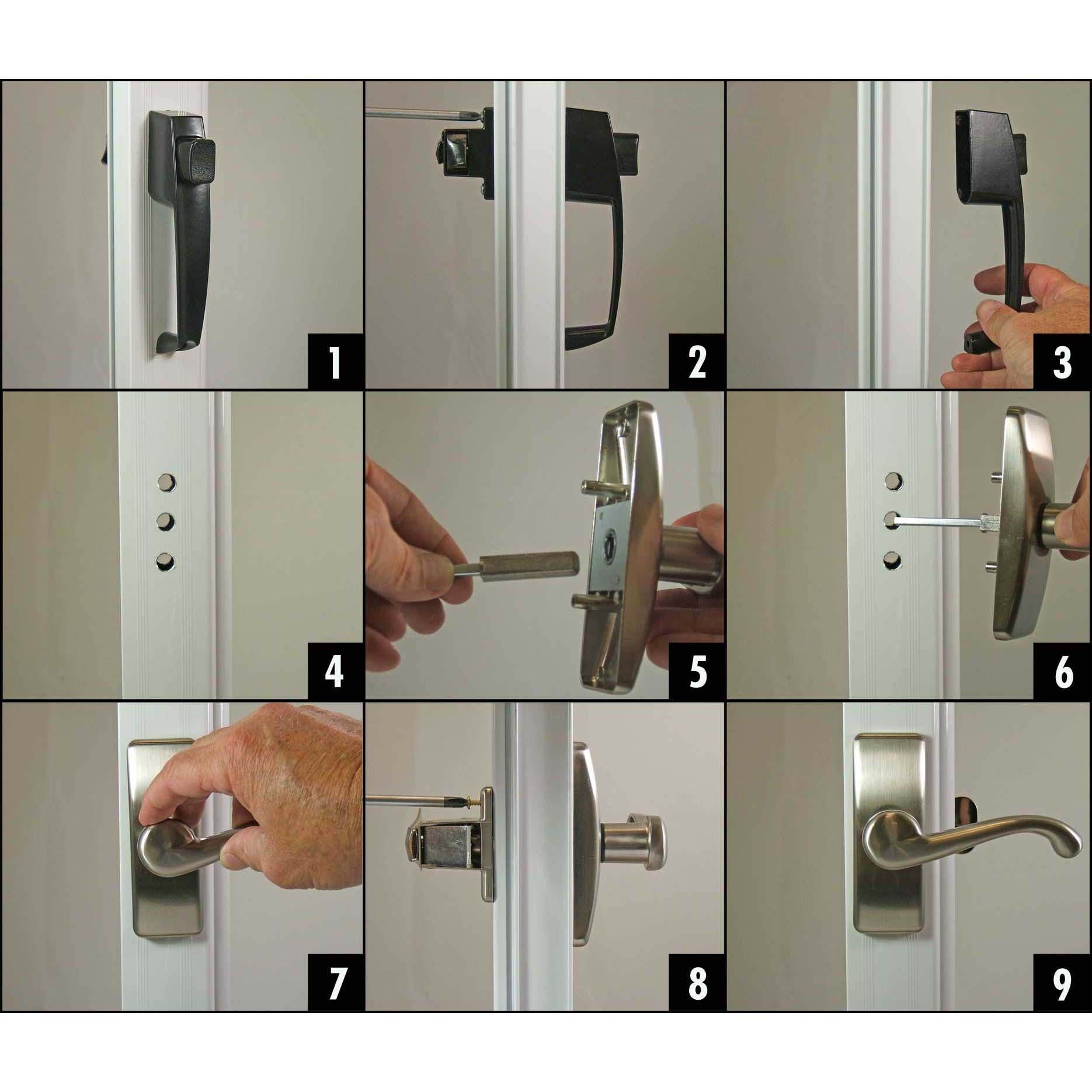 How To Install Or Replace A Storm Or Screen Door Handle Ideal