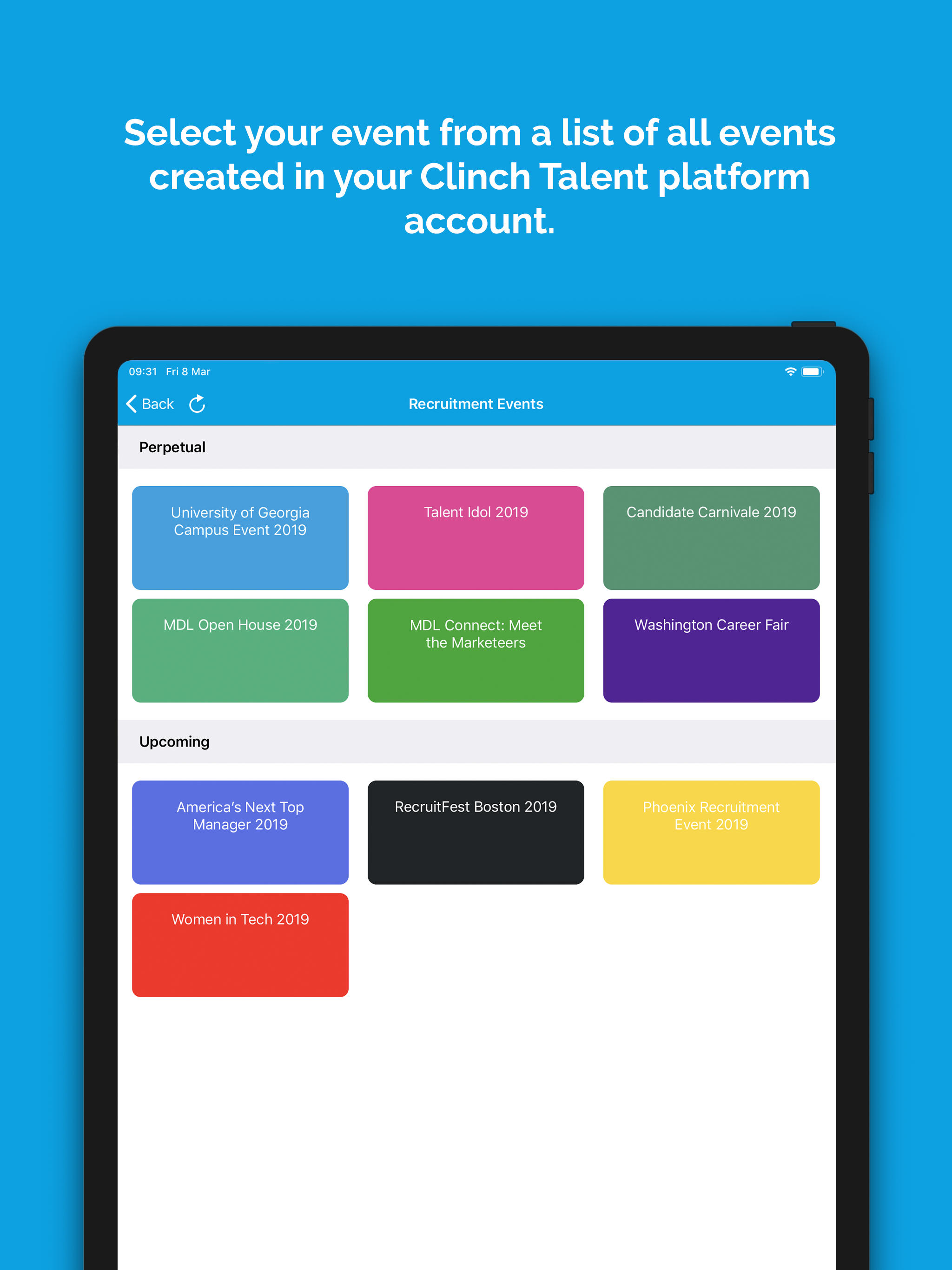 ClinchTalent Capture App: Getting started with kiosk mode for iPad
