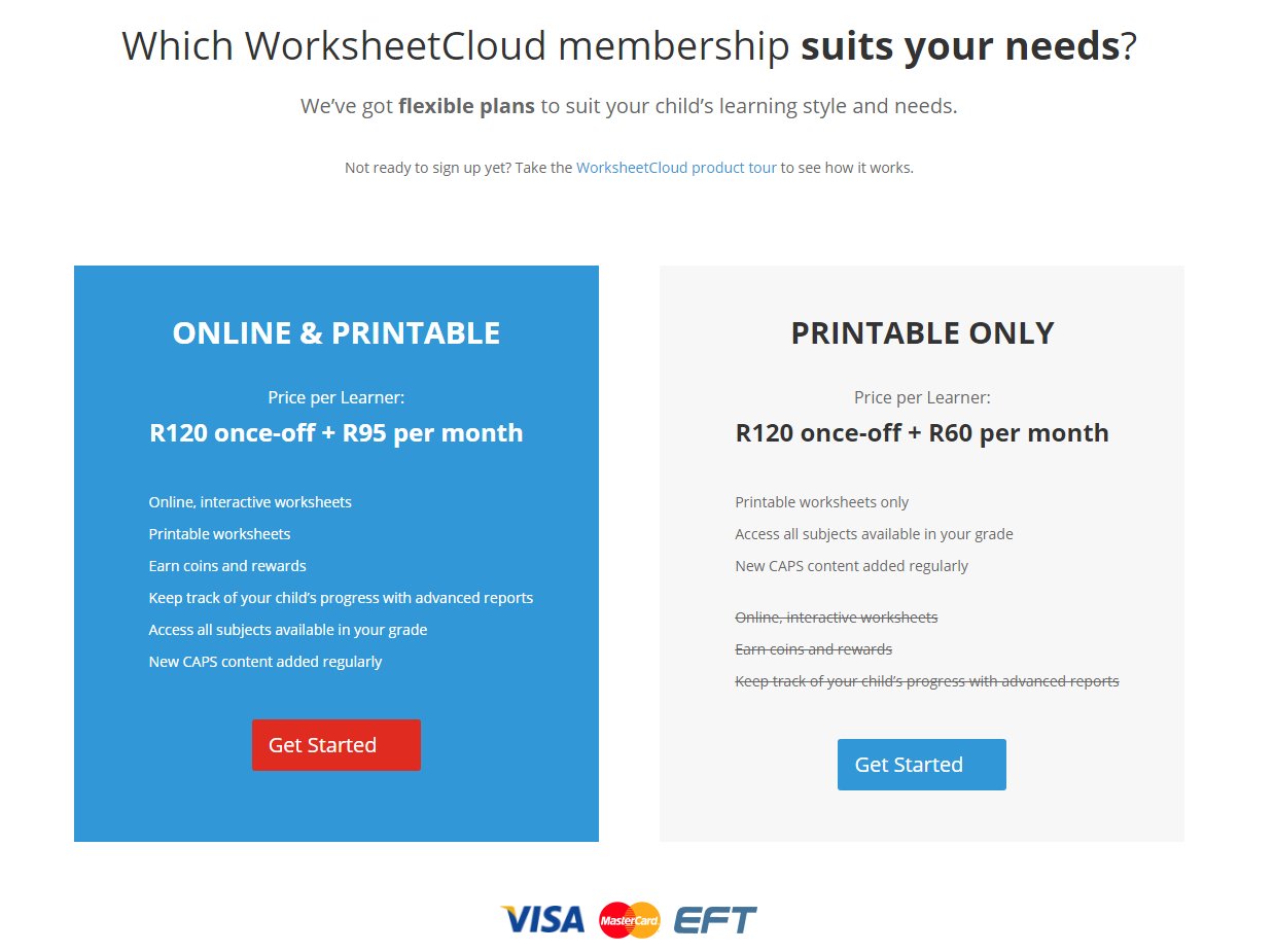 How can I sign up? - WorksheetCloud Help