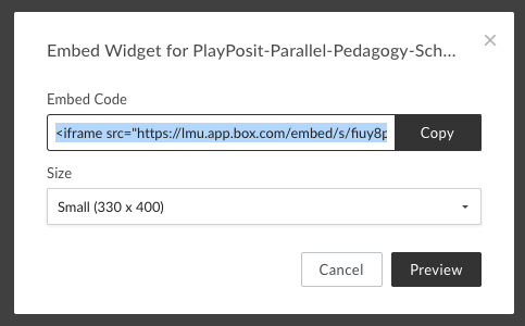 How to attach content from Box to PlayPosit - PlayPosit