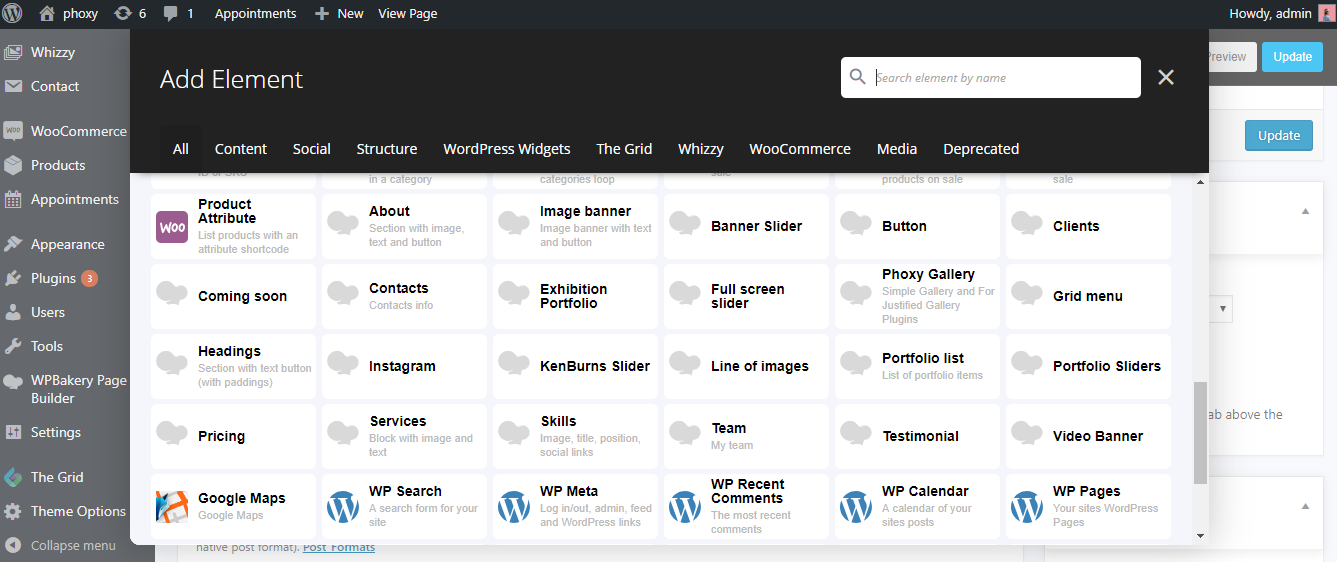 4 1 How to add WPBakery Page Builder ShortCodes - FoxThemes