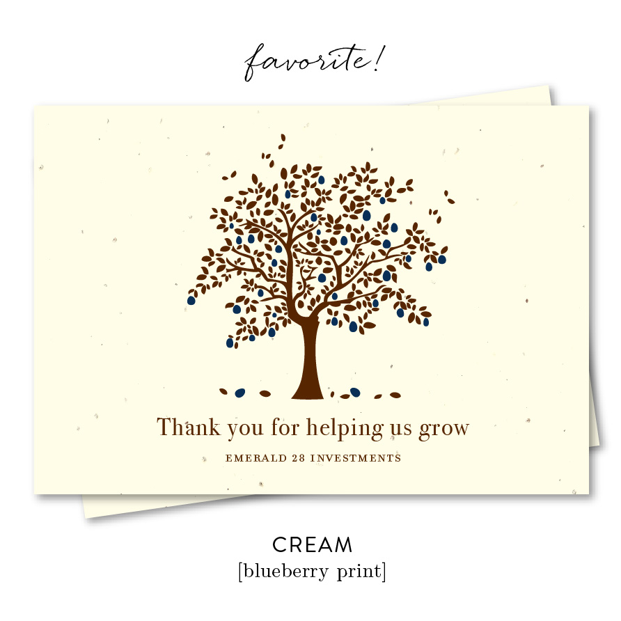 Apple Tree Thank you notes for referral