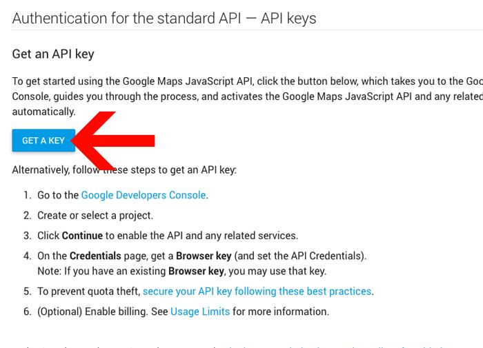 10. Google Maps API key - MeridianThemes Knowledge Base on
