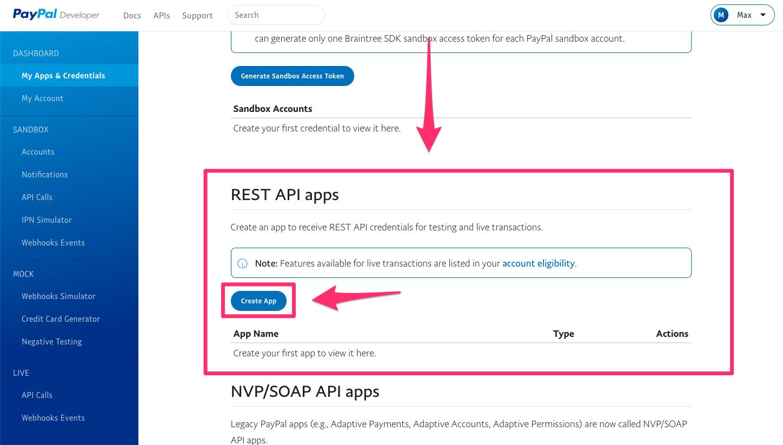 PAYPAL DEVELOPER ACCOUNT API - How To Test WordPress Plugins