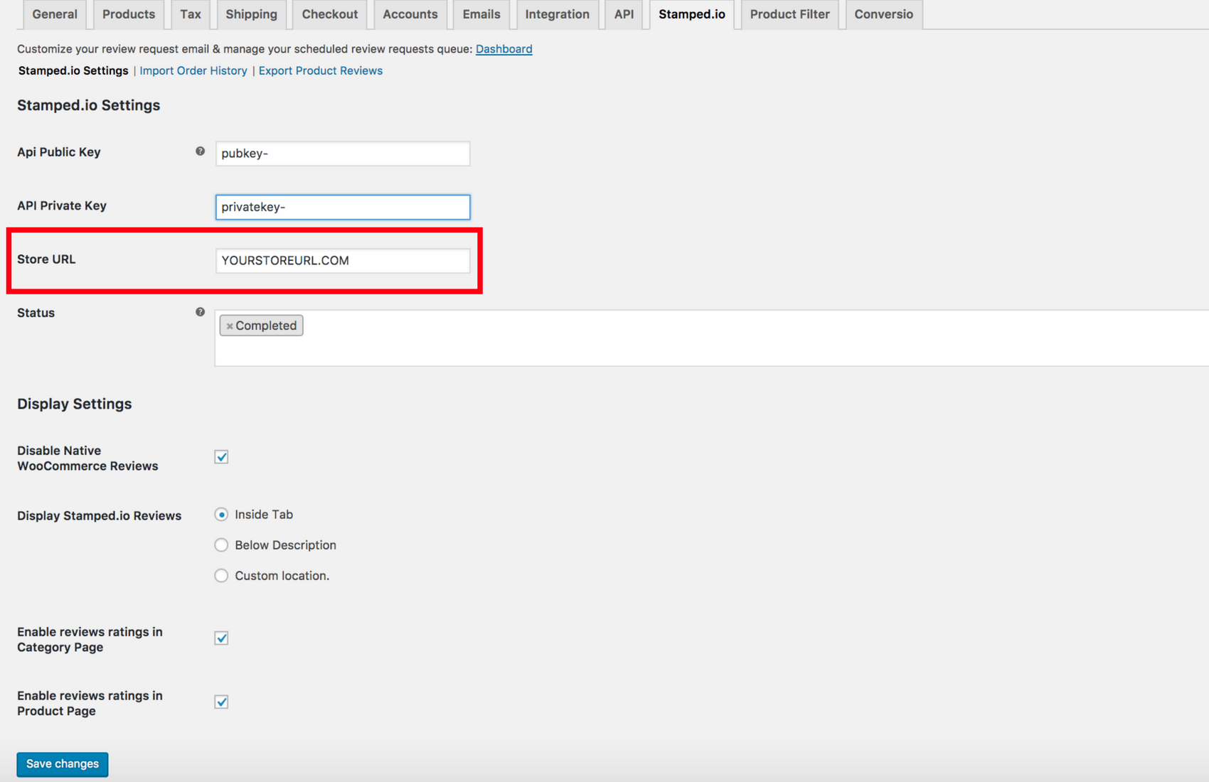 Getting Started - WooCommerce Wordpress - Stamped io Support