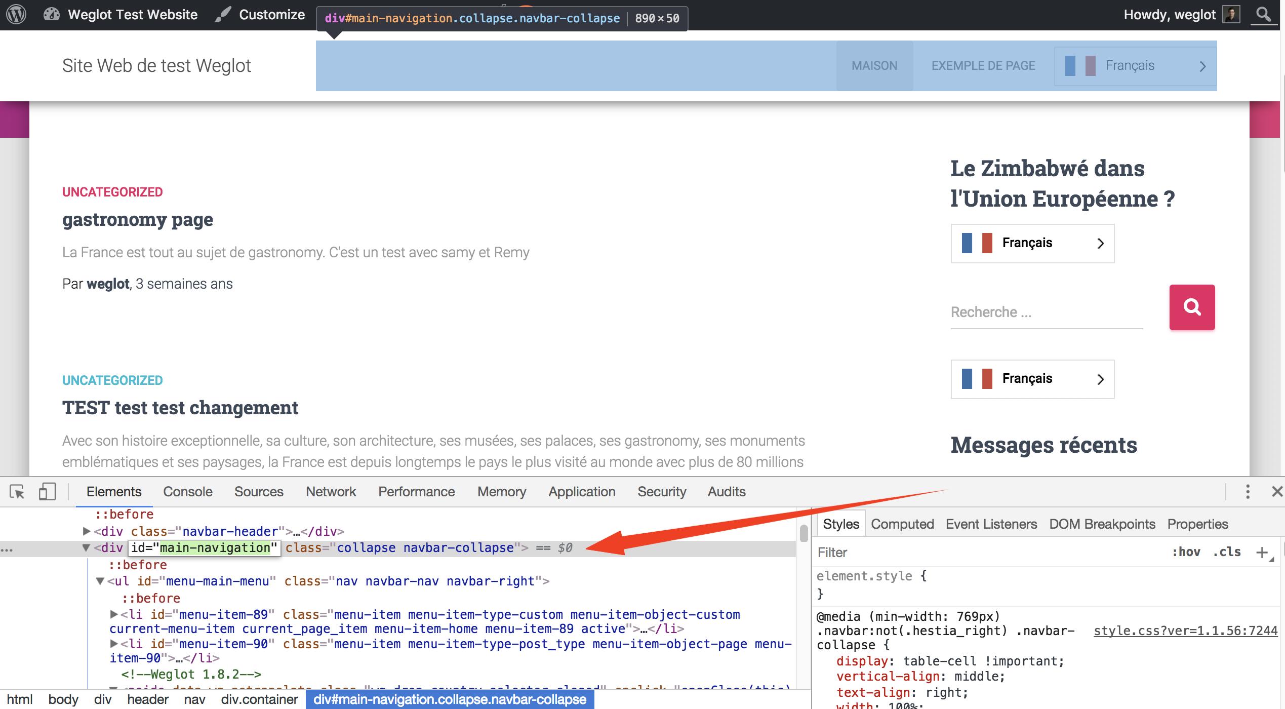 WordPress - Design - How to delete an extra button? - Help