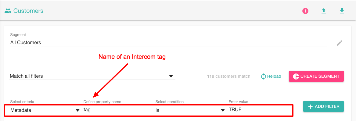 Intercom tag name
