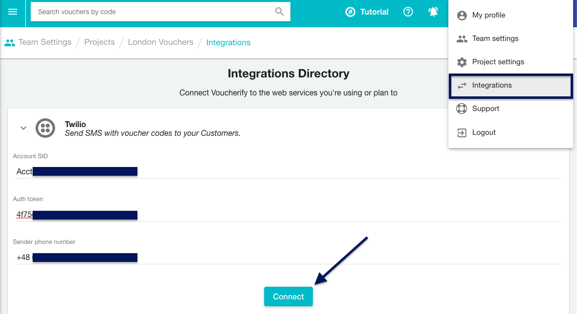 Voucherify Integration Directory