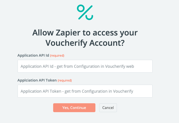 Zapier and Voucherify