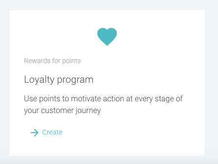 New Loyalty Program