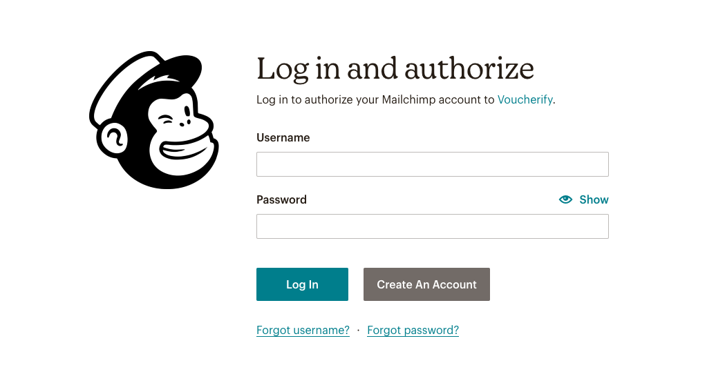 mailchimp authorization