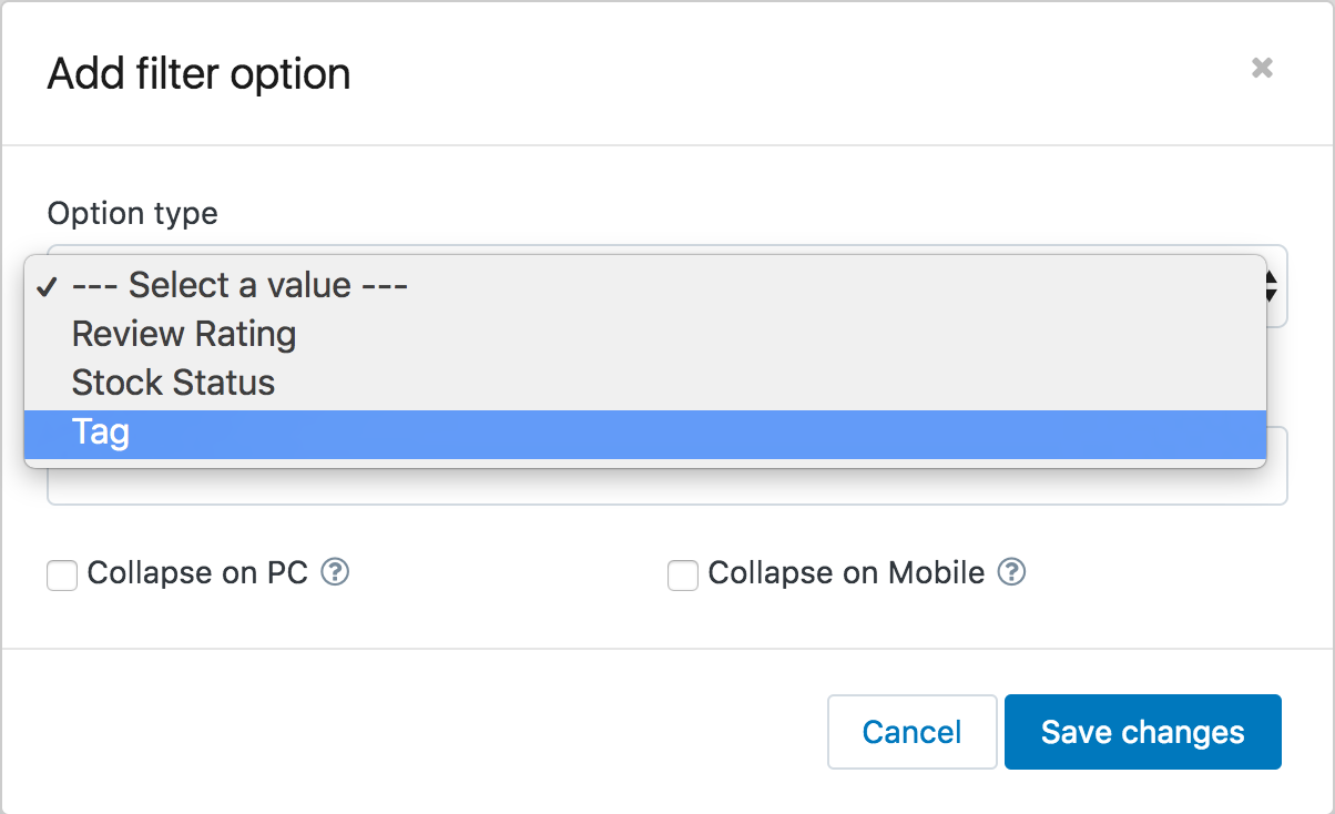 How to create custom filter options - BoostCommerce