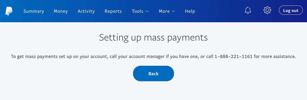 Enabling Mass Payments in your Paypal account - BrandChamp Knowledge