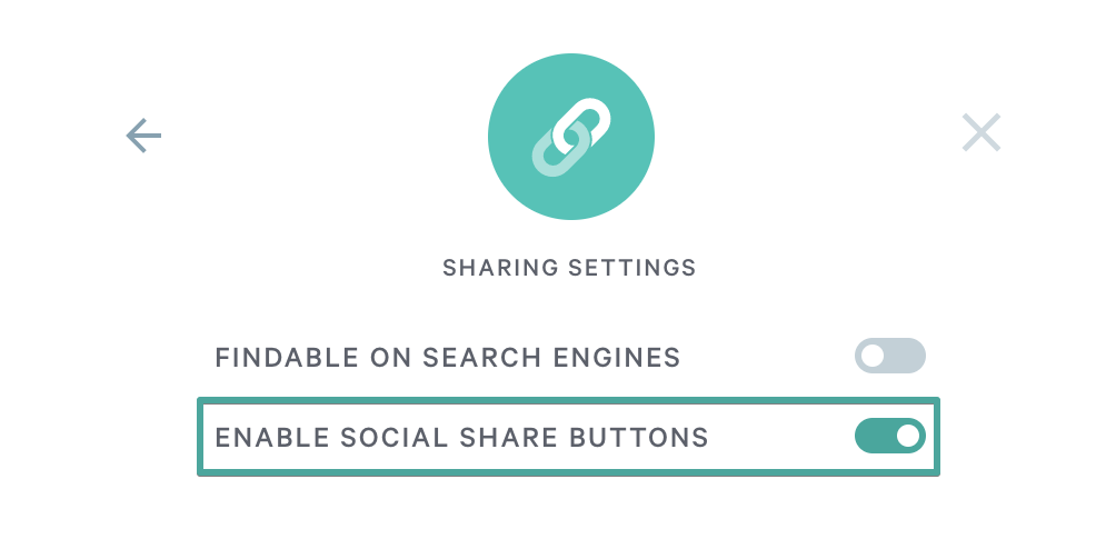 Adding social sharing links to pages - Qwilr Help Center