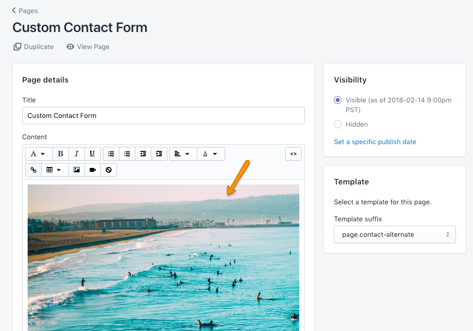 Tutorial how to create a customized contact form groupthought position setting example maxwellsz