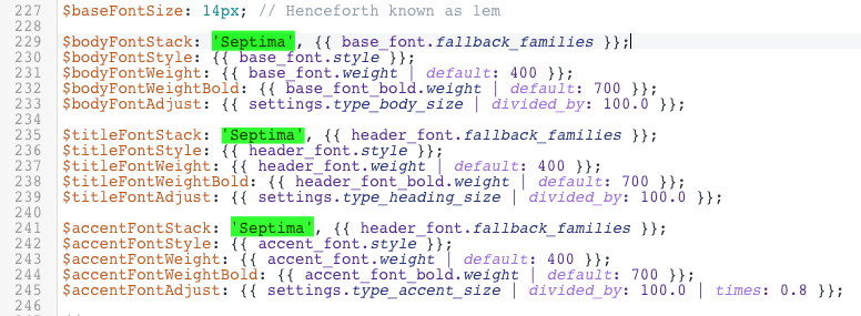 Fonts: Adding a custom downloaded font to your theme - Pipeline