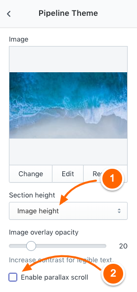 Banner images that work well with multiple device sizes - Pipeline